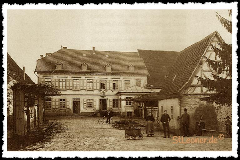Mühlenhof im Jahr 1913